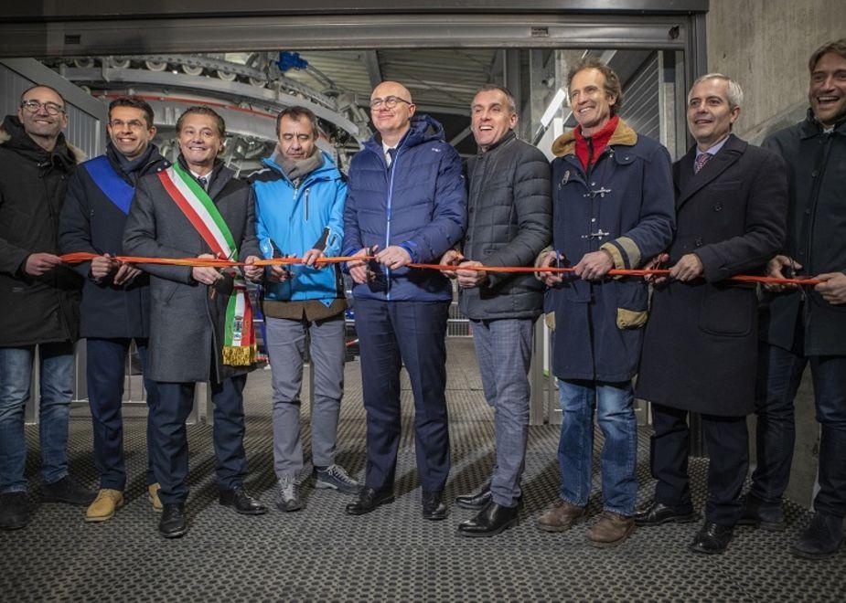 A Cortina inaugurata la nuova cabinovia Tofana - Freccia nel Cielo