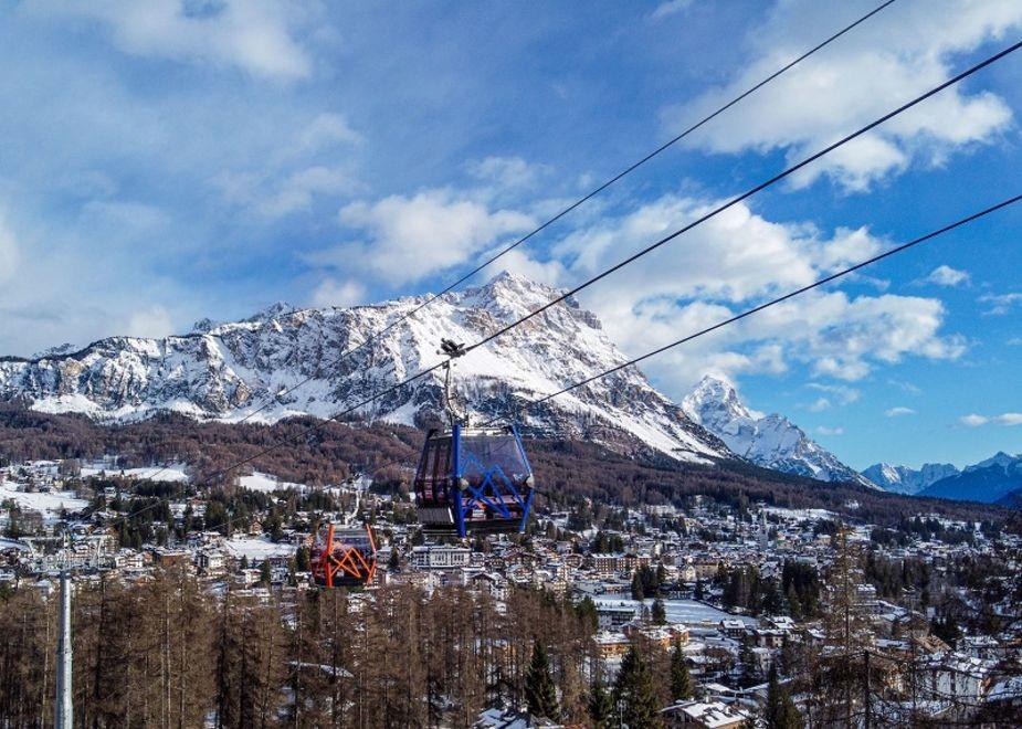 A Cortina un Open Day per la nuova cabinovia Tofana - Freccia nel Cielo