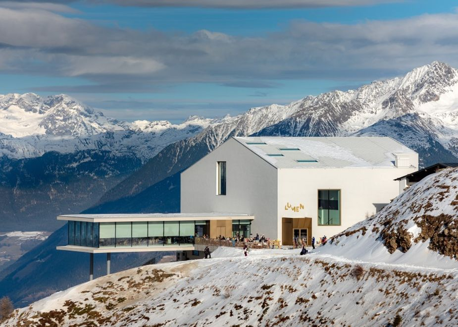 LUMEN, un progetto architettonico sostenibile che valorizza l'identità culturale di Plan de Corones