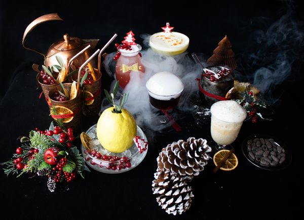 Gli speciali XMAS COCKTAILS del Quellenhof Luxury Resort Lazise