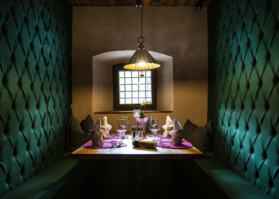 Privacy gourmet al Dolomiti Wellness Hotel Fanes