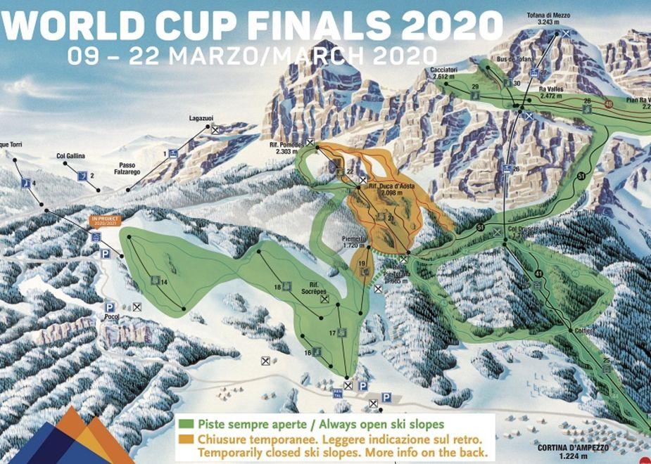 Tofana-Freccia nel Cielo, una terrazza sullo sci mondiale tra sport e gusto
