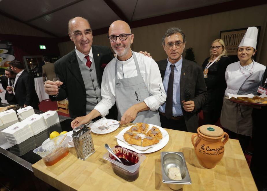A Merano WineFestival lo spazio Campania Felix&Gourmet