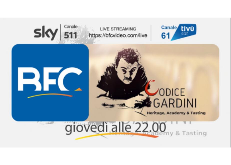 """""""Codice Gardini"""" sbarca in TV. Giovedì 25 giugno alle 22.00 su BFC TV – canale Sky 511 di Forbes - e in contemporanea su Tivusat canale 61"""