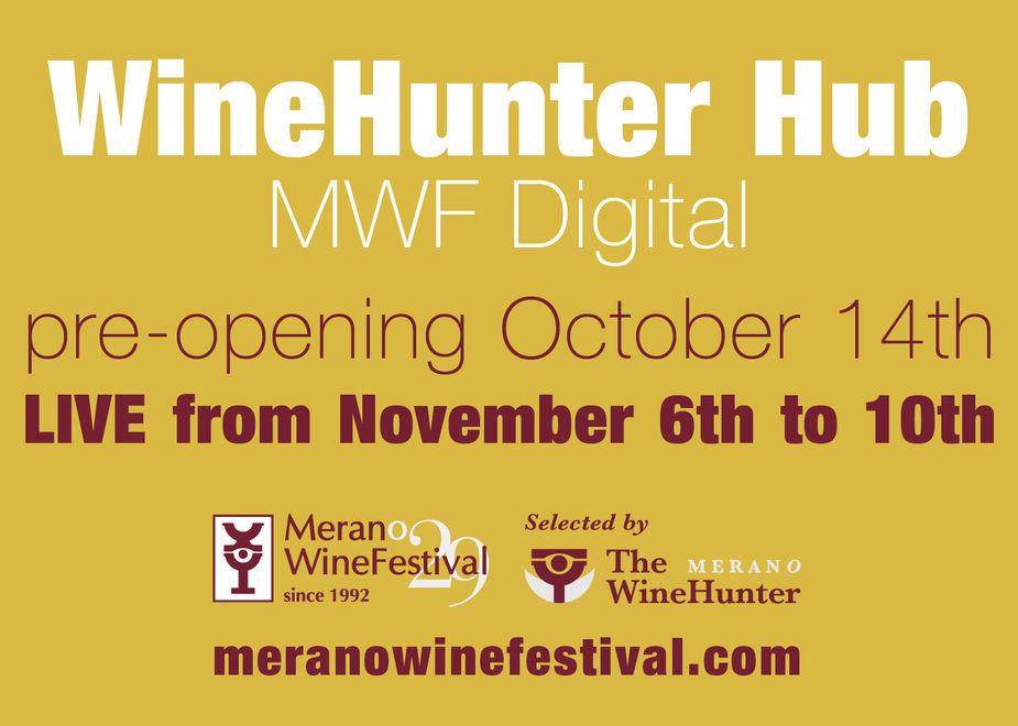Merano WineFestival diventa anche digital con la piattaforma WineHunter Hub